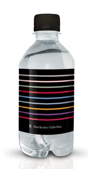 Dorchester branded bottled water