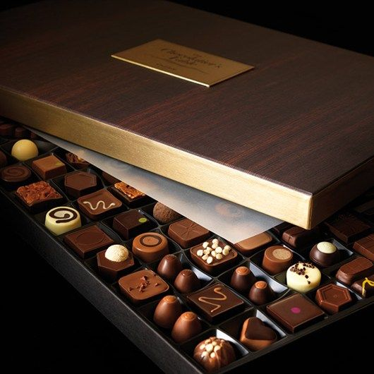 Luxury doesn't have to mean chocolate
