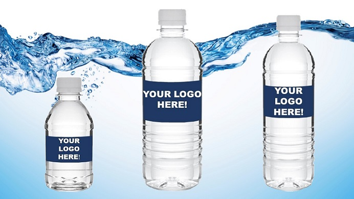 Bottled Water With Personalized Logo